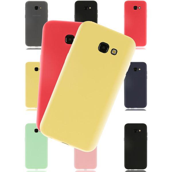 NALIA Handyhülle kompatibel mit Samsung Galaxy A5 2017, Jelly Case Schutzhülle Ultra-Slim Silikon Back-Cover, Dünne Gummi Hülle Handy-Tasche Schale, Smart-Phone Bumper Skin Etui – Bild 1