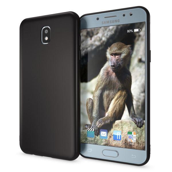 NALIA Handyhülle kompatibel mit Samsung Galaxy J3 2017 (EU-Modell), Jelly Case Schutzhülle Ultra-Slim Silikon Back-Cover Dünne Gummi Hülle Handy-Tasche, Smart-Phone Bumper Skin Etui – Bild 7