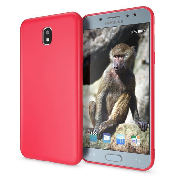 NALIA Handyhülle kompatibel mit Samsung Galaxy J3 2017 (EU-Modell), Jelly Case Schutzhülle Ultra-Slim Silikon Back-Cover Dünne Gummi Hülle Handy-Tasche, Smart-Phone Bumper Skin Etui – Bild 12
