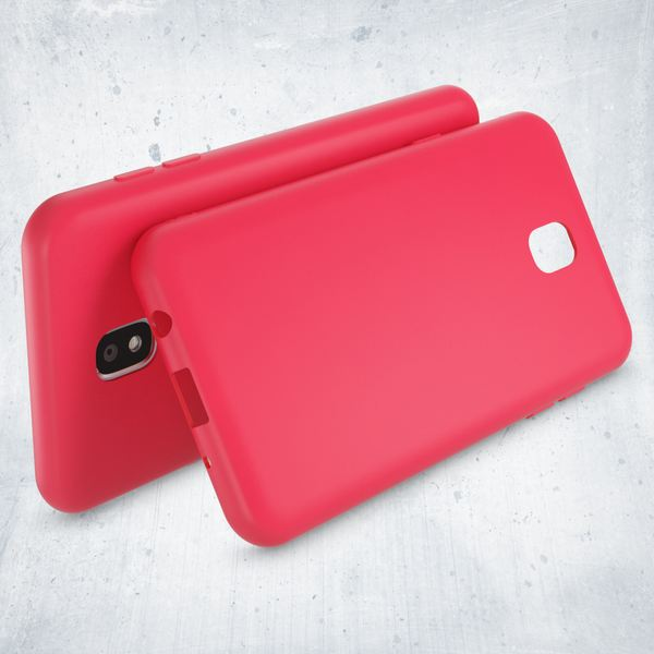 NALIA Handyhülle kompatibel mit Samsung Galaxy J3 2017 (EU-Modell), Jelly Case Schutzhülle Ultra-Slim Silikon Back-Cover Dünne Gummi Hülle Handy-Tasche, Smart-Phone Bumper Skin Etui – Bild 13