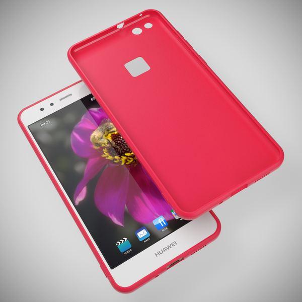 NALIA Handyhülle für HuaweiP10 Lite, Ultra-Slim Silikon Matt Jelly Case, Dünnes Cover Gummi Schutz-Hülle Skin Etui Handy-Tasche Backcover Bumper für HuaweiP10-Lite Smart-Phone, Farbe: Rosa – Bild 13
