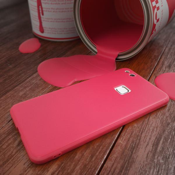 NALIA Handyhülle für HuaweiP10 Lite, Ultra-Slim Silikon Matt Jelly Case, Dünnes Cover Gummi Schutz-Hülle Skin Etui Handy-Tasche Backcover Bumper für HuaweiP10-Lite Smart-Phone, Farbe: Rosa – Bild 10