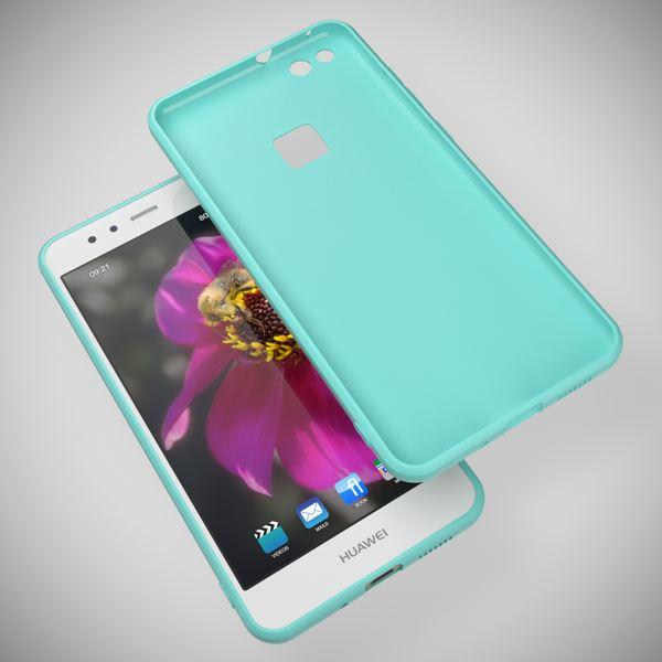 NALIA Handyhülle für HuaweiP10 Lite, Ultra-Slim Silikon Matt Jelly Case, Dünnes Cover Gummi Schutz-Hülle Skin Etui Handy-Tasche Backcover Bumper für HuaweiP10-Lite Smart-Phone, Farbe: Rosa – Bild 19