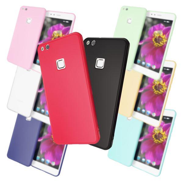 NALIA Handyhülle kompatibel mit Huawei P10 Lite, Jelly Case Schutzhülle Ultra-Slim Silikon Back-Cover, Dünne Gummi Hülle Handy-Tasche Telefon-Schale, Smart-Phone Bumper Skin Etui – Bild 1
