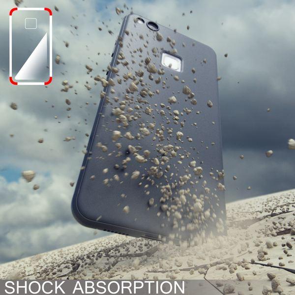 NALIA Handyhülle für HuaweiP10 Lite, Ultra-Slim Silikon Matt Jelly Case, Dünnes Cover Gummi Schutz-Hülle Skin Etui Handy-Tasche Backcover Bumper für HuaweiP10-Lite Smart-Phone, Farbe: Rosa – Bild 12
