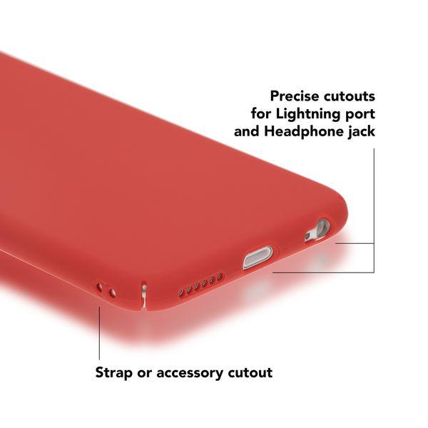NALIA Handyhülle kompatibel mit iPhone 6 6S, Dünnes Hard-Case Schutzhülle Matt, Ultra-Slim Back-Cover Leichte Hülle Etui Handy-Tasche, Thin Smart-Phone Skin Telefon-Schale Bumper – Bild 10