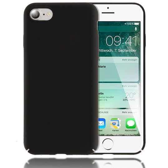 iPhone 8 / 7 Hülle Handyhülle von NALIA, Dünnes Hard-Case Schutzhülle Matt, Ultra-Slim Cover Etui Handy-Tasche, Ultra-Slim Phone Backcover Skin Bumper für Apple iPhone-7 / 8 Smartphone – Bild 2