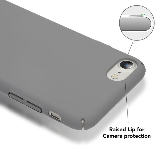 iPhone 8 / 7 Hülle Handyhülle von NICA, Dünnes Hard-Case Schutzhülle Matt, Ultra-Slim Cover Etui Handy-Tasche, Ultra-Slim Phone Backcover Skin Bumper für Apple iPhone-7 / 8 Smartphone  – Bild 10