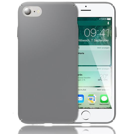 iPhone 8 / 7 Hülle Handyhülle von NALIA, Dünnes Hard-Case Schutzhülle Matt, Ultra-Slim Cover Etui Handy-Tasche, Ultra-Slim Phone Backcover Skin Bumper für Apple iPhone-7 / 8 Smartphone – Bild 9