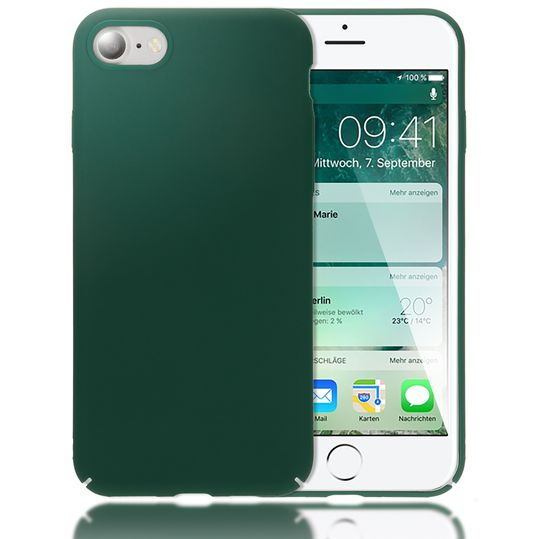 iPhone 8 / 7 Hülle Handyhülle von NICA, Dünnes Hard-Case Schutzhülle Matt, Ultra-Slim Cover Etui Handy-Tasche, Ultra-Slim Phone Backcover Skin Bumper für Apple iPhone-7 / 8 Smartphone  – Bild 23