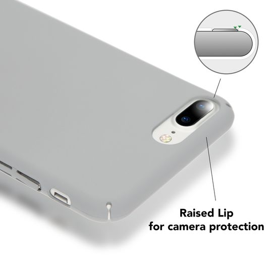 iPhone 8 Plus / 7 Plus Hülle Handyhülle von NICA, Dünnes Hard-Case Schutzhülle Matt, Ultra-Slim Cover Etui Handy-Tasche, Ultra-Slim Phone Backcover Skin Bumper für Apple iPhone-7+/8+  – Bild 8