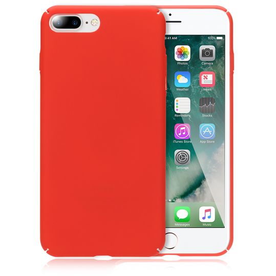 iPhone 8 Plus / 7 Plus Hülle Handyhülle von NICA, Dünnes Hard-Case Schutzhülle Matt, Ultra-Slim Cover Etui Handy-Tasche, Ultra-Slim Phone Backcover Skin Bumper für Apple iPhone-7+/8+  – Bild 22