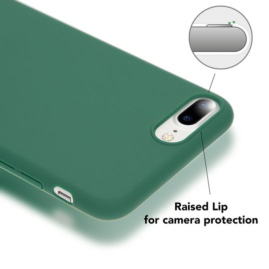 iPhone 8 Plus / 7 Plus Hülle Handyhülle von NICA, Dünnes Hard-Case Schutzhülle Matt, Ultra-Slim Cover Etui Handy-Tasche, Ultra-Slim Phone Backcover Skin Bumper für Apple iPhone-7+/8+  – Bild 13