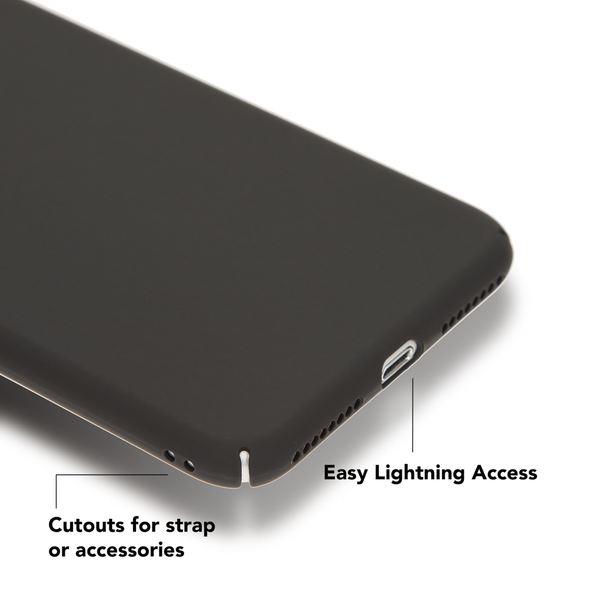 NALIA Handyhülle für iPhone 8 Plus / 7 Plus, Dünnes Hard-Case Schutz-Hülle Matt, Ultra-Slim Cover Etui Handy-Tasche, Ultra-Slim Phone Backcover Skin Bumper für Apple iPhone-7+/8+ – Bild 5