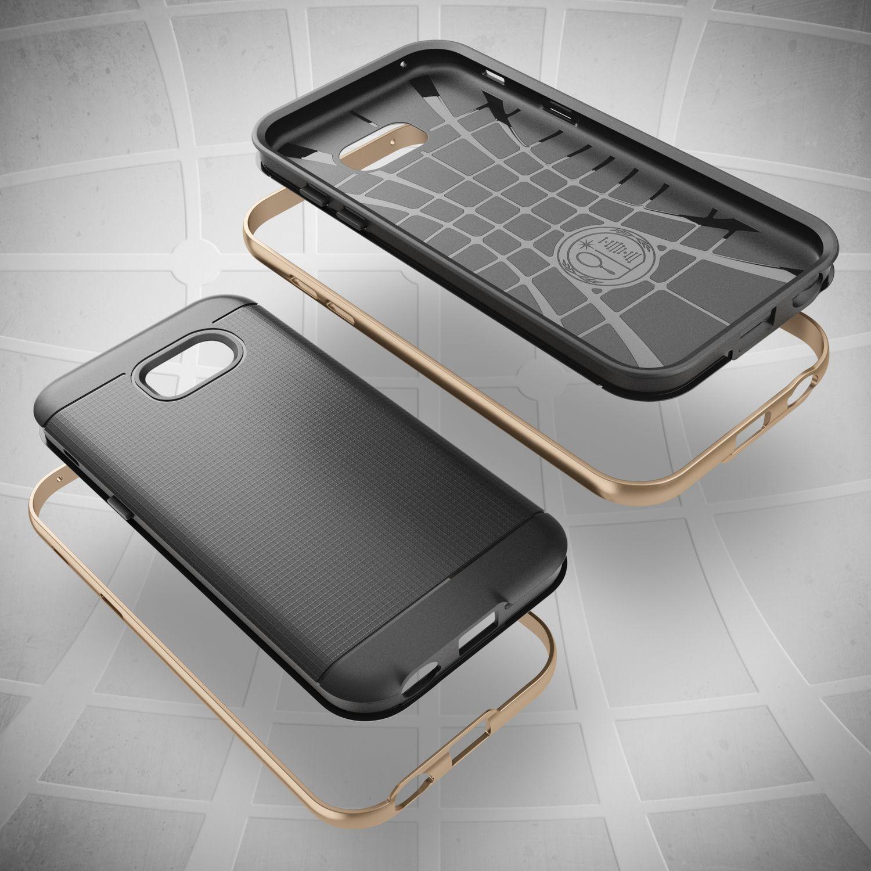 samsung galaxy a3 2017 handy h lle von nalia silikon case cover mit metall bumper. Black Bedroom Furniture Sets. Home Design Ideas