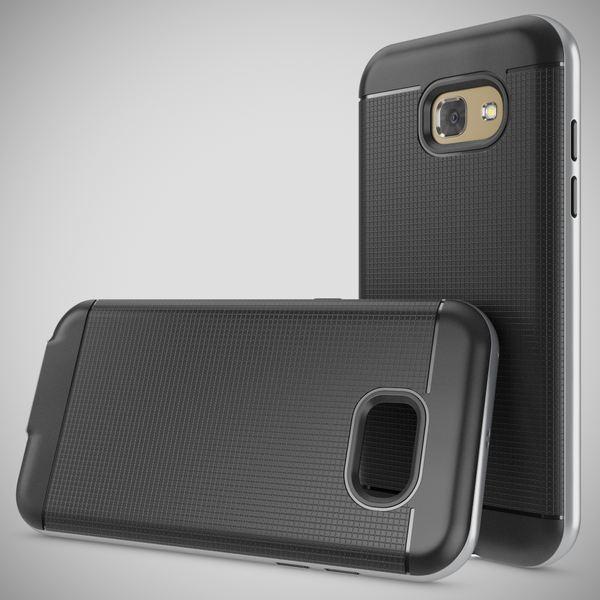 NALIA Handyhülle kompatibel mit Samsung Galaxy A3 2017, Ultra-Slim Silikon Case mit Farb-Bumper Rahmen im Metall-Look, Dünne Sport Schutzhülle Etui Handy-Tasche Schale Back-Cover Hülle – Bild 11