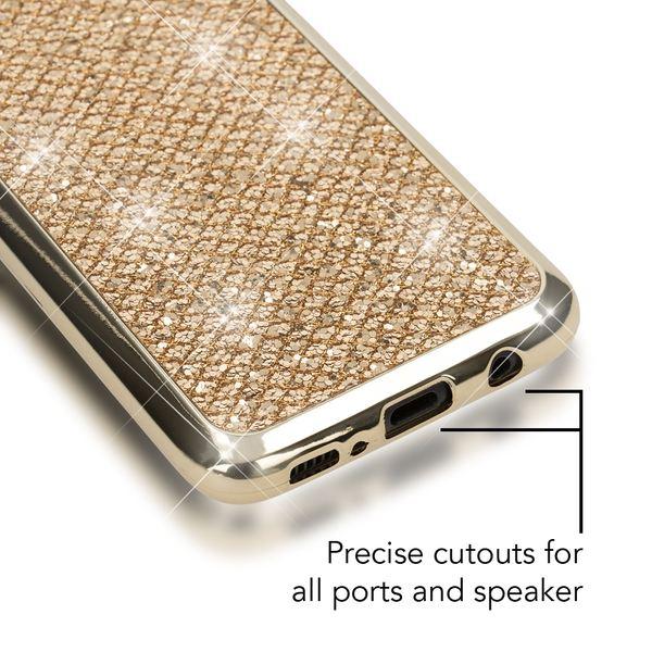 NALIA Handyhülle kompatibel mit Samsung Galaxy S8, Glitzer Slim Silikon-Case Back-Cover Schutzhülle, Glitter Sparkle Handy-Tasche Bumper, Dünne Bling Strass Smart-Phone Hülle – Bild 14