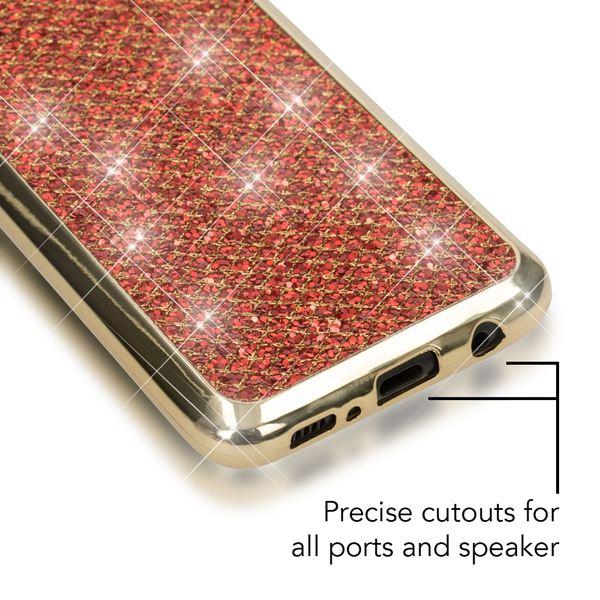 NALIA Handyhülle kompatibel mit Samsung Galaxy S8, Glitzer Slim Silikon-Case Back-Cover Schutzhülle, Glitter Sparkle Handy-Tasche Bumper, Dünne Bling Strass Smart-Phone Hülle – Bild 19