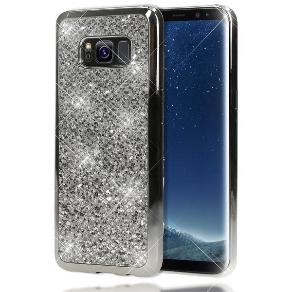 NALIA Handyhülle kompatibel mit Samsung Galaxy S8 Plus, Glitzer Slim Silikon-Case Back-Cover Schutzhülle, Glitter Sparkle Handy-Tasche Bumper, Dünne Bling Strass Smart-Phone Hülle – Bild 17
