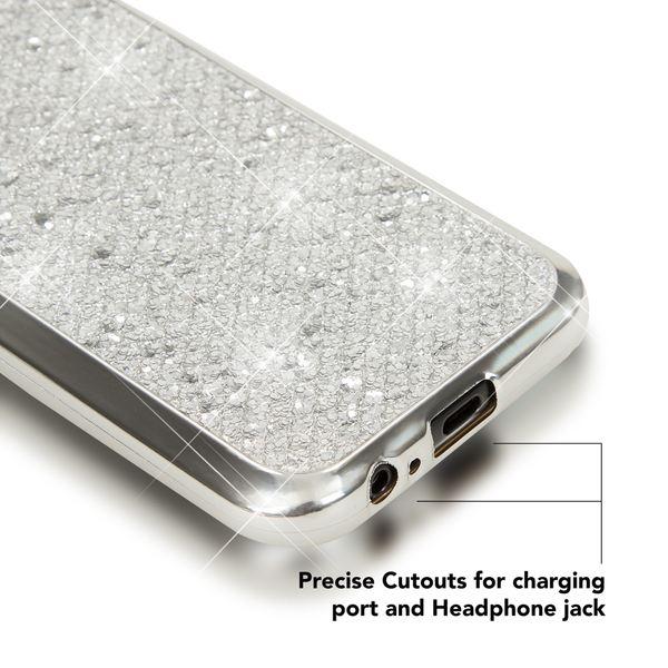 NALIA Handyhülle kompatibel mit Samsung Galaxy A3 2017, Glitzer Slim Silikon-Case Back-Cover Schutzhülle, Glitter Sparkle Handy-Tasche Bumper, Dünne Bling Strass Smart-Phone Hülle – Bild 22