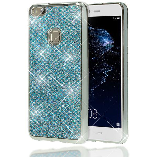 NALIA Handyhülle für HuaweiP10 Lite, Glitzer Slim Silikon-Case Back-Cover Schutz-Hülle, Glitter Sparkle Handy-Tasche Bumper, Dünnes Bling Strass Smart-Phone Etui für P10-Lite – Bild 14