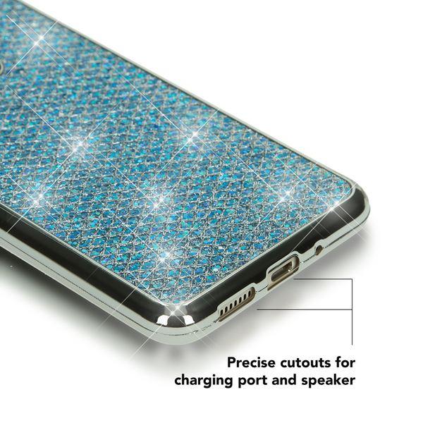 NALIA Handyhülle für HuaweiP10 Lite, Glitzer Slim Silikon-Case Back-Cover Schutz-Hülle, Glitter Sparkle Handy-Tasche Bumper, Dünnes Bling Strass Smart-Phone Etui für P10-Lite – Bild 16