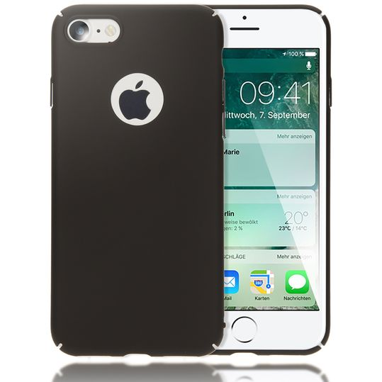 iPhone 7 Hülle Handyhülle von NALIA, Dünnes Hard-Case Schutzhülle Matt, Ultra-Slim Etui leichte Handy-Tasche, Ultra-Slim Smart-Phone Back-Cover Skin Bumper für Apple i-Phone 7 – Bild 2