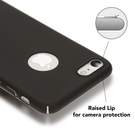 iPhone 7 Hülle Handyhülle von NALIA, Dünnes Hard-Case Schutzhülle Matt, Ultra-Slim Etui leichte Handy-Tasche, Ultra-Slim Smart-Phone Back-Cover Skin Bumper für Apple i-Phone 7 – Bild 3