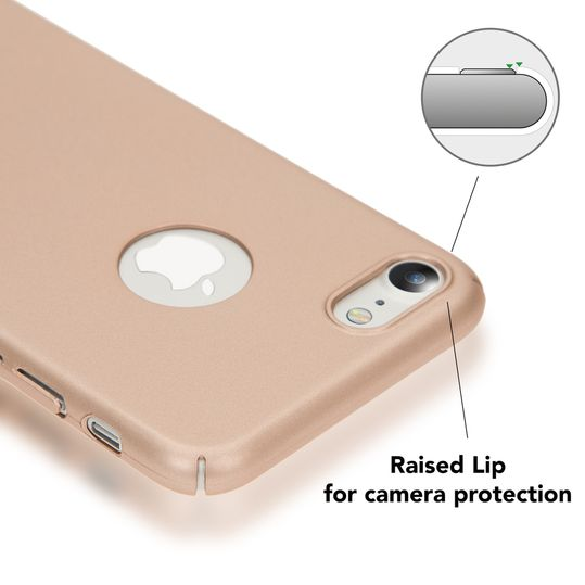 iPhone 7 Hülle Handyhülle von NALIA, Dünnes Hard-Case Schutzhülle Matt, Ultra-Slim Etui leichte Handy-Tasche, Ultra-Slim Smart-Phone Back-Cover Skin Bumper für Apple i-Phone 7 – Bild 15