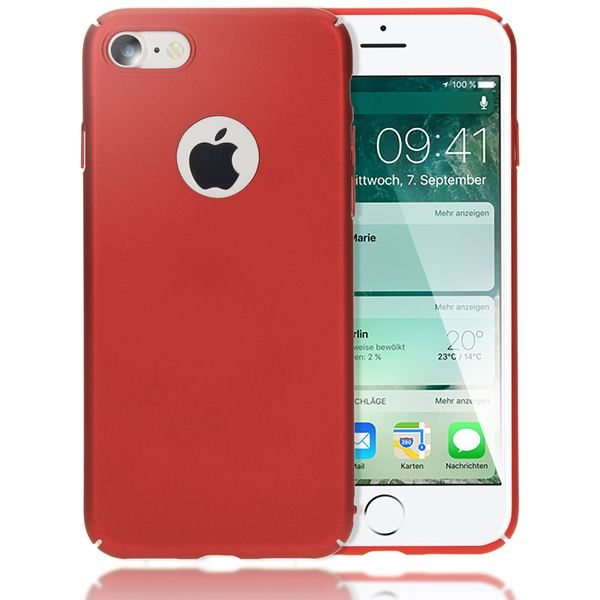NALIA Handyhülle für iPhone 7, Dünnes Hard-Case Schutz-Hülle Matt, Ultra-Slim Etui leichte Handy-Tasche, Ultra-Slim Smart-Phone Back-Cover Skin Bumper für Apple i-Phone 7 – Bild 6