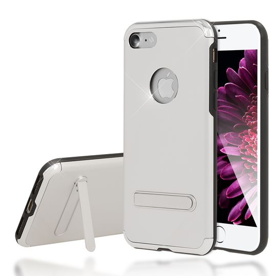 iPhone 7 Ständer Hülle von NICA, Stoßfeste Dünne Schutzhülle Hard-Case mit Standfunktion Handy-Tasche, Ultra-Slim Back-Cover Etui Matt Bumper für Apple iPhone 7 Smartphone – Bild 8