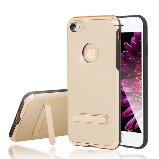 iPhone 7 Ständer Hülle von NICA, Stoßfeste Dünne Schutzhülle Hard-Case mit Standfunktion Handy-Tasche, Ultra-Slim Back-Cover Etui Matt Bumper für Apple iPhone 7 Smartphone – Bild 14
