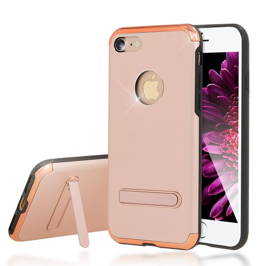 iPhone 7 Ständer Hülle von NICA, Stoßfeste Dünne Schutzhülle Hard-Case mit Standfunktion Handy-Tasche, Ultra-Slim Back-Cover Etui Matt Bumper für Apple iPhone 7 Smartphone – Bild 20