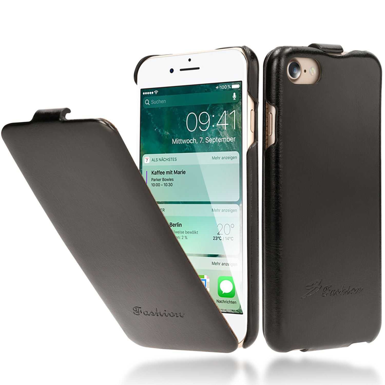 apple iphone 8 7 klapp h lle von nalia pu leder flip. Black Bedroom Furniture Sets. Home Design Ideas