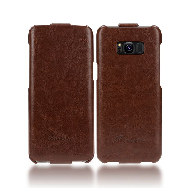 NALIA Klapphülle kompatibel mit Samsung Galaxy S8 Plus, Kunst-Leder Flip-Case Vegan Handyhülle, Full-Body Skin Handy Cover Ganzkörper Schutzhülle Dünn, Vorne Hinten Rundum-Schutz Hülle – Bild 9