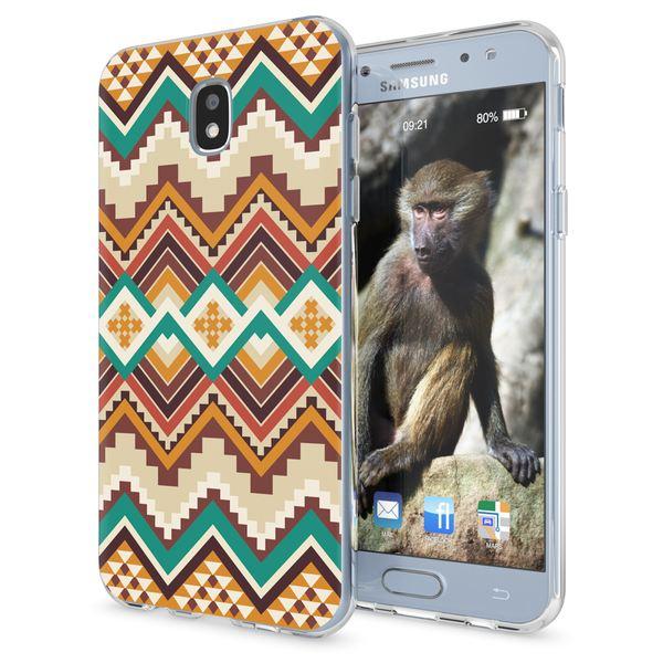 NALIA Handyhülle kompatibel mit Samsung Galaxy J3 2017 (EU-Modell), Motiv Design Schutzhülle Slim Silikon Case, Handy-Tasche Hülle Smart-Phone Etui Muster Back-Cover Dünn – Bild 2