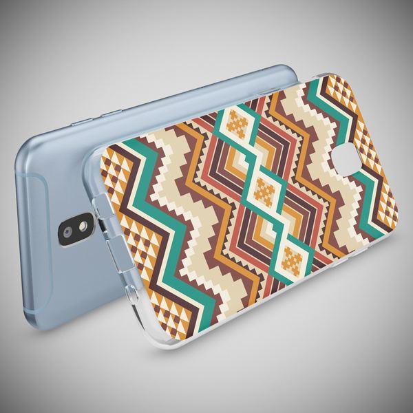 NALIA Handyhülle kompatibel mit Samsung Galaxy J3 2017 (EU-Modell), Motiv Design Schutzhülle Slim Silikon Case, Handy-Tasche Hülle Smart-Phone Etui Muster Back-Cover Dünn – Bild 3