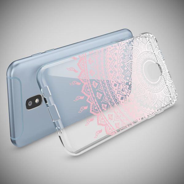 NALIA Handyhülle kompatibel mit Samsung Galaxy J3 2017 (EU-Modell), Motiv Design Schutzhülle Slim Silikon Case, Handy-Tasche Hülle Smart-Phone Etui Muster Back-Cover Dünn – Bild 9