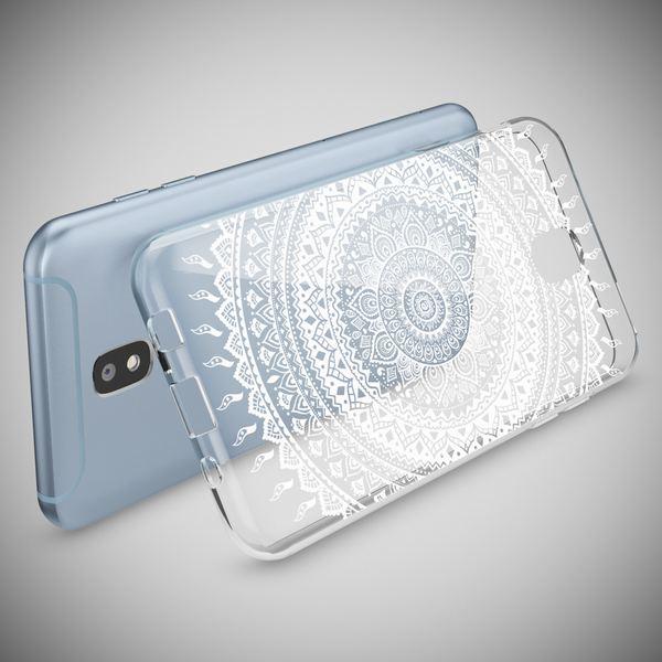 NALIA Handyhülle kompatibel mit Samsung Galaxy J3 2017 (EU-Modell), Motiv Design Schutzhülle Slim Silikon Case, Handy-Tasche Hülle Smart-Phone Etui Muster Back-Cover Dünn – Bild 15