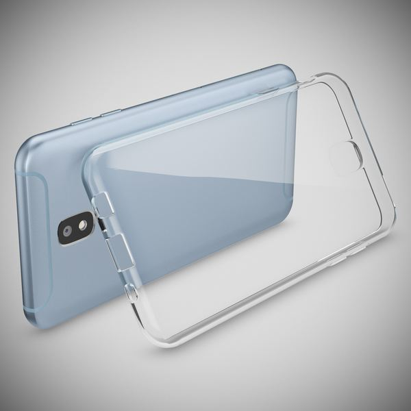 NALIA Handyhülle kompatibel mit Samsung Galaxy J5 2017 (EU-Modell), Ultra-Slim Soft Silikon Case Cover, Crystal Clear Schutzhülle Dünn Durchsichtig, Etui Handy-Tasche Smart-Phone Hülle - Transparent – Bild 3
