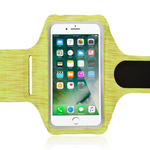 NALIA Fitness Armband Sport Handy-Tasche, Reflektierende Oberarmtasche zum Joggen, Wandern, Radfahren für Smartphones bis zu 5,5 Zoll z.B. iPhone, Samsung, HTC, Sony, Huawei uvm. – Bild 8