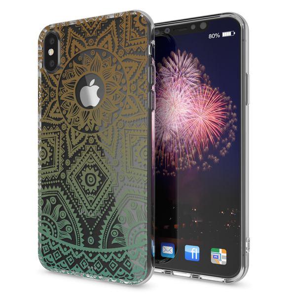 NALIA Hülle für iPhone X XS, Slim Handyhülle Silikon Motiv Case Cover Crystal Schutz-Hülle Dünn Durchsichtig Etui Handy-Tasche Transparent Bumper für Apple iPhone-XS X – Bild 11