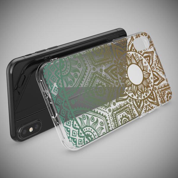 NALIA Handyhülle kompatibel mit iPhone X XS, Motiv Design Schutzhülle Slim Silikon Case, Crystal Handy-Tasche Hülle Back-Cover Dünn Durchsichtig, Smart-Phone Bumper Etui – Bild 12
