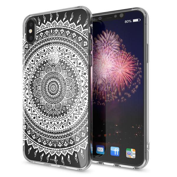 NALIA Hülle für iPhone X XS, Slim Handyhülle Silikon Motiv Case Cover Crystal Schutz-Hülle Dünn Durchsichtig Etui Handy-Tasche Transparent Bumper für Apple iPhone-XS X – Bild 14