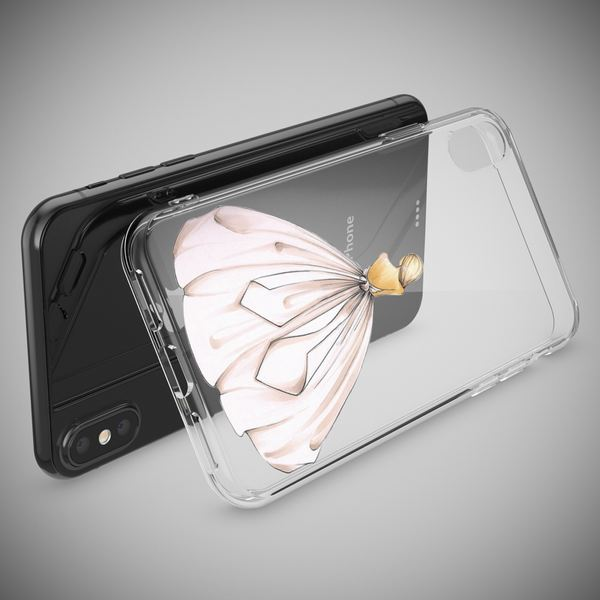 NALIA Handyhülle kompatibel mit iPhone X XS, Motiv Design Schutzhülle Slim Silikon Case, Crystal Handy-Tasche Hülle Back-Cover Dünn Durchsichtig, Smart-Phone Bumper Etui – Bild 21
