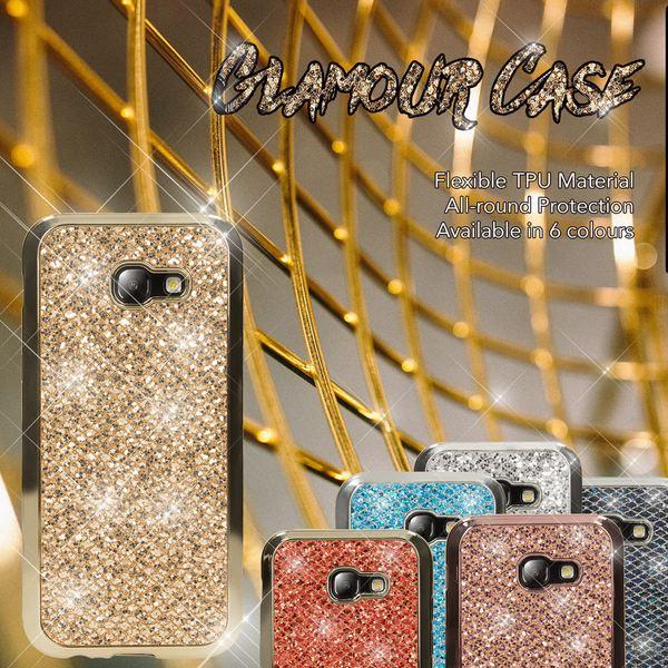 NALIA Handyhülle kompatibel mit Samsung Galaxy A5 2017, Glitzer Slim Silikon-Case Back-Cover Schutzhülle, Glitter Sparkle Handy-Tasche Bumper, Dünne Bling Strass Smart-Phone Hülle – Bild 7