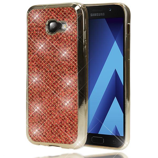 NALIA Handyhülle kompatibel mit Samsung Galaxy A5 2017, Glitzer Slim Silikon-Case Back-Cover Schutzhülle, Glitter Sparkle Handy-Tasche Bumper, Dünne Bling Strass Smart-Phone Hülle – Bild 8