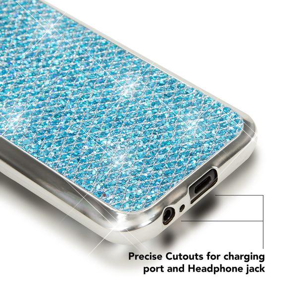 NALIA Handyhülle kompatibel mit Samsung Galaxy A5 2017, Glitzer Slim Silikon-Case Back-Cover Schutzhülle, Glitter Sparkle Handy-Tasche Bumper, Dünne Bling Strass Smart-Phone Hülle – Bild 16