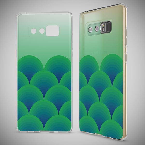 NALIA Handyhülle kompatibel mit Samsung Galaxy Note 8, Motiv Design Schutzhülle Slim Silikon Case, Crystal Handy-Tasche Hülle Muster Back-Cover Dünn, Smart-Phone Etui – Bild 4