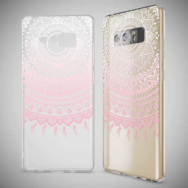 NALIA Handyhülle kompatibel mit Samsung Galaxy Note 8, Motiv Design Schutzhülle Slim Silikon Case, Crystal Handy-Tasche Hülle Muster Back-Cover Dünn, Smart-Phone Etui – Bild 13